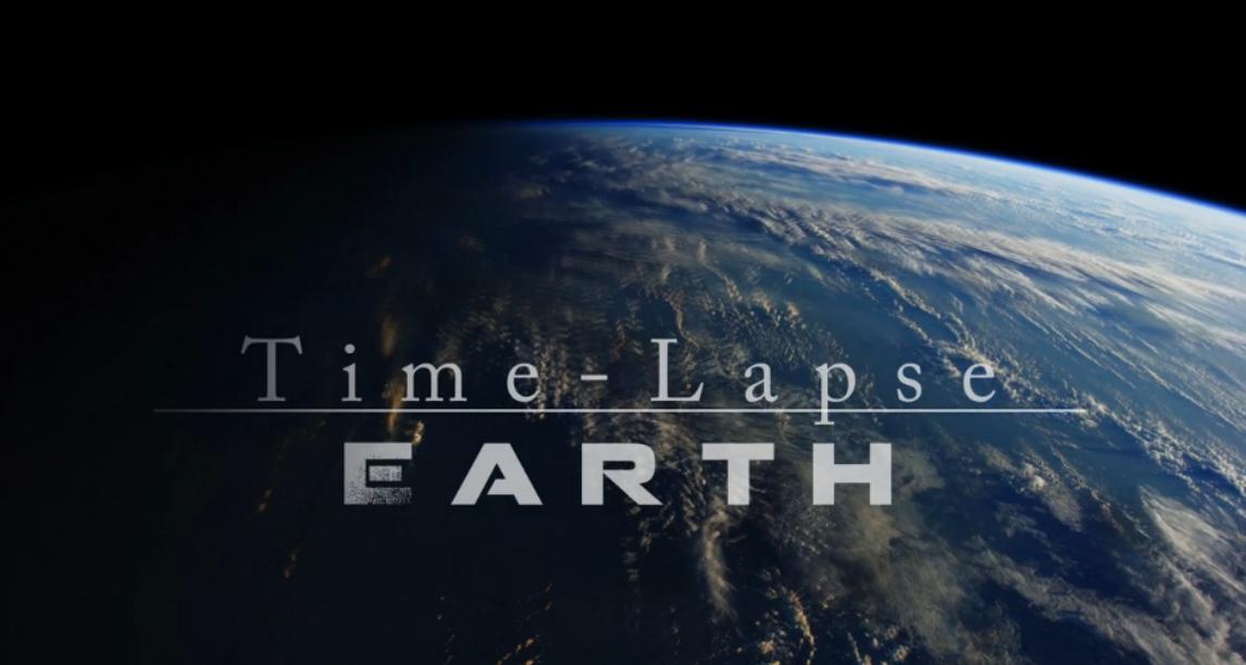 La terre vue de l'espace… magique !