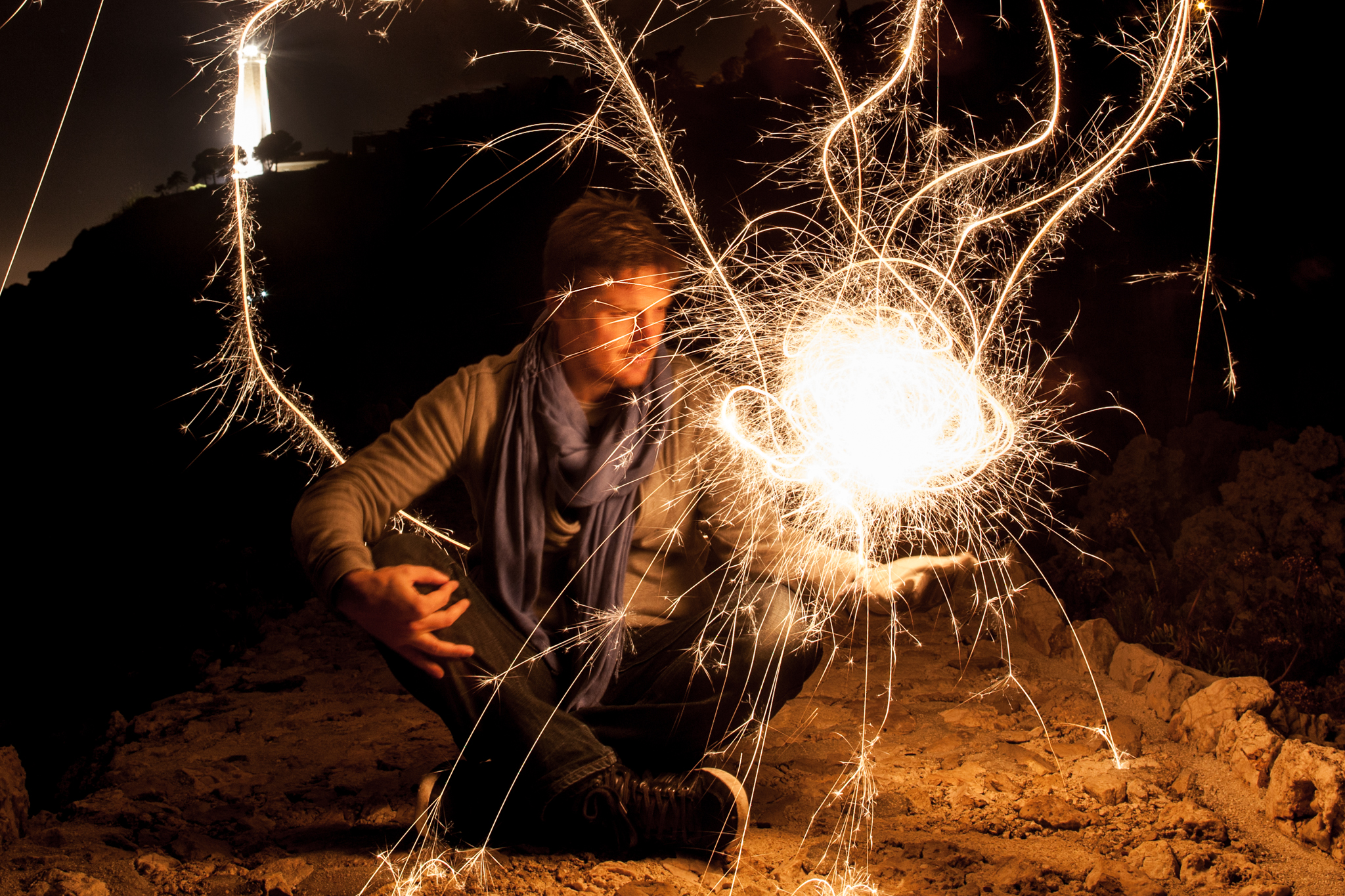 comment faire du light painting