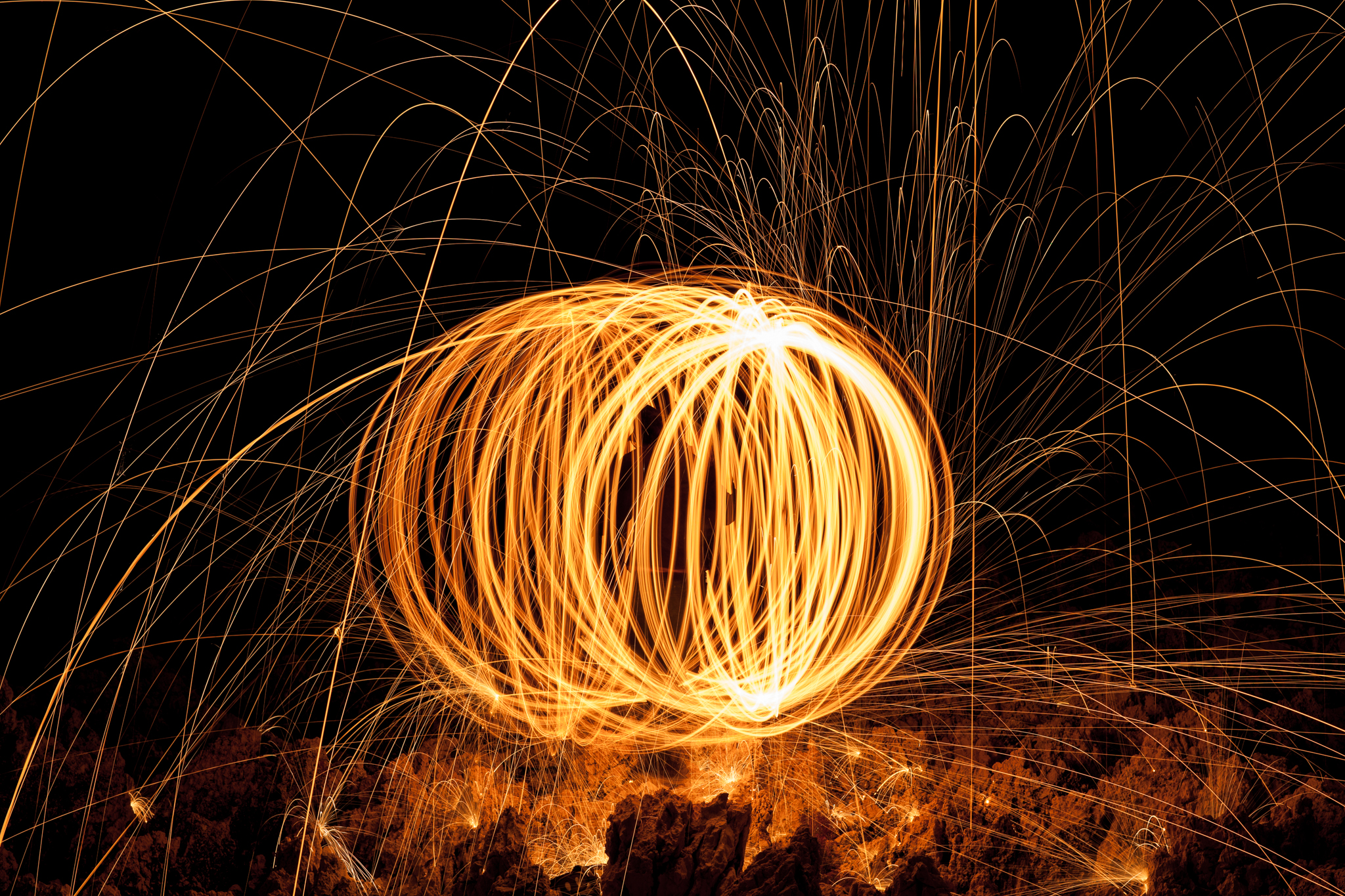 how to take light painting photos