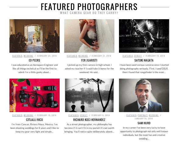 ShotKit photographes