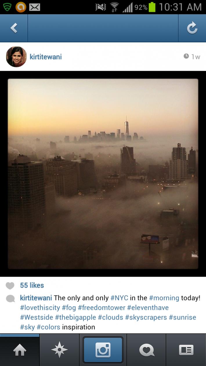NYC FOG