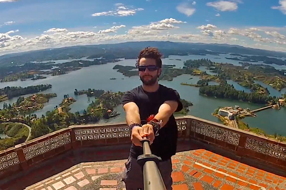 Trois ans de selfies à 360°