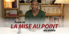 mise au point en video