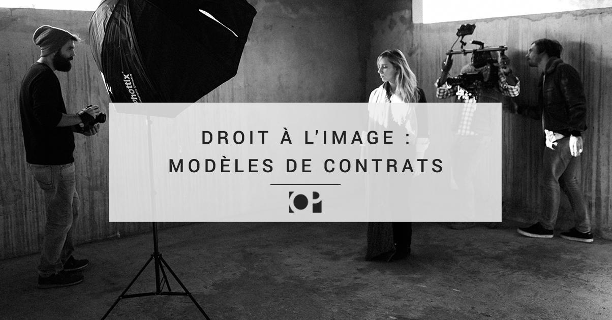 Droit A L Image Modeles De Contrats A Telecharger