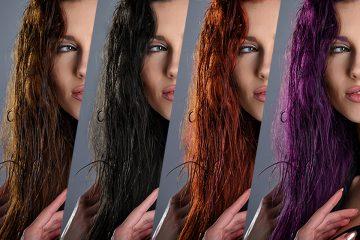 Photoshop : changer la couleur des cheveux
