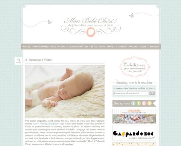Etre publie sur un blog avec ses photos ! Rachel raconte !