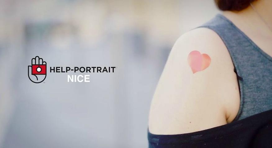 Help Portrait Nice : Donner un sourire grace à la photo