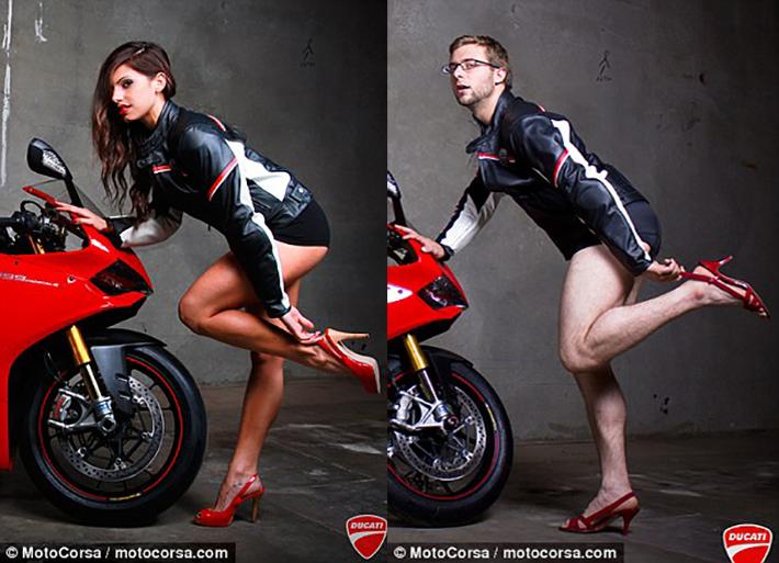 Shooting moto sexy… ou pas !